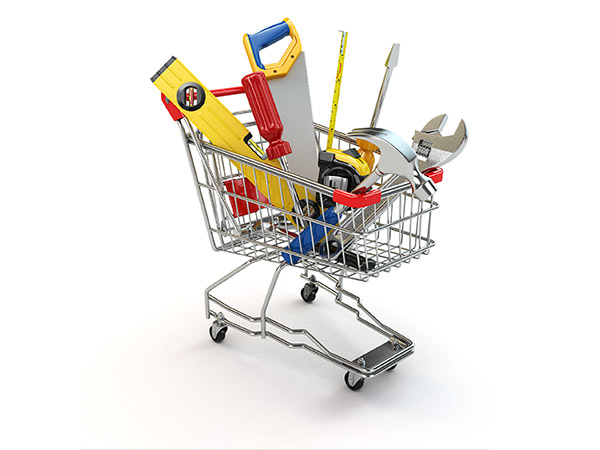 Tools in trolley